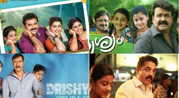Which Drishyam Was Better Malyalam Hindi Telugu Or Tamil