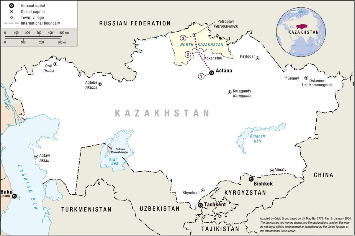John Browns Notes and Essays Russian Speakers of the Kazakh Steppe
