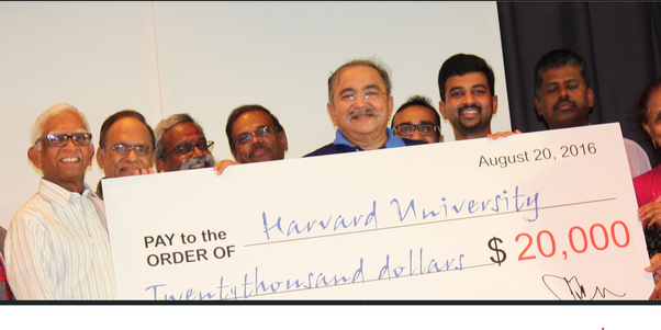 Harvard Tamil Chair—What is Tamil chair and how does it help? Fundraiser Canada