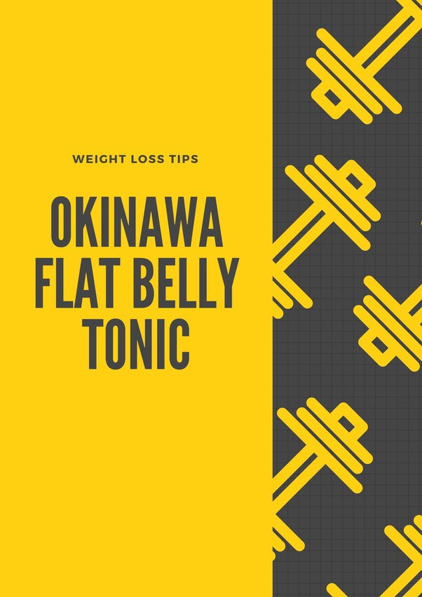 WEIGHT LOSS GUIDE WITH OKINAWA FLAT BELLY TONIC