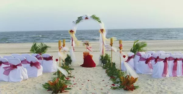 Goa is the best destination wedding venue as the wedding planner recommends this.