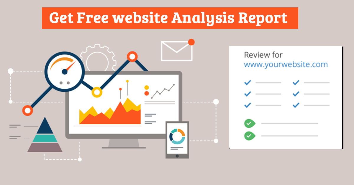 report on website analysis