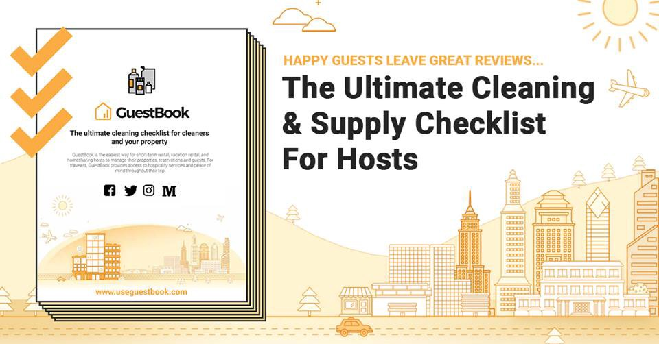 The Ultimate Cleaning And Supply Check List For Your