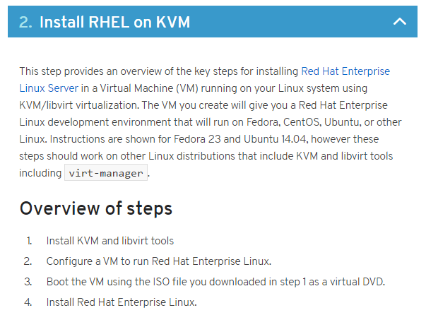 RHCSA Exam Study — Pt  1 Setting Up Your Virtual Machine