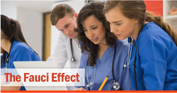 The Fauci Effect—A New Generation of Healers