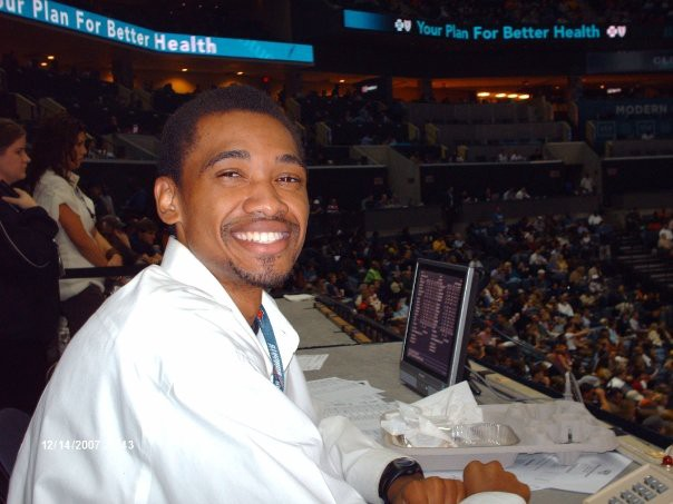 December 2007 work trip covering Charlotte Bobcats (before change back to Hornets)
