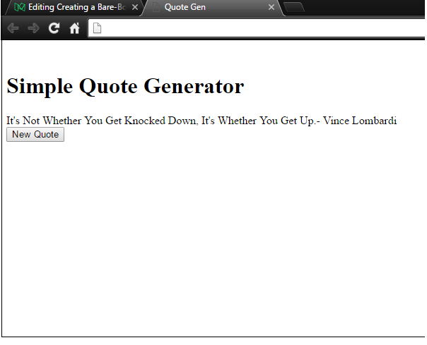 How to build a random quote generator with JavaScript and