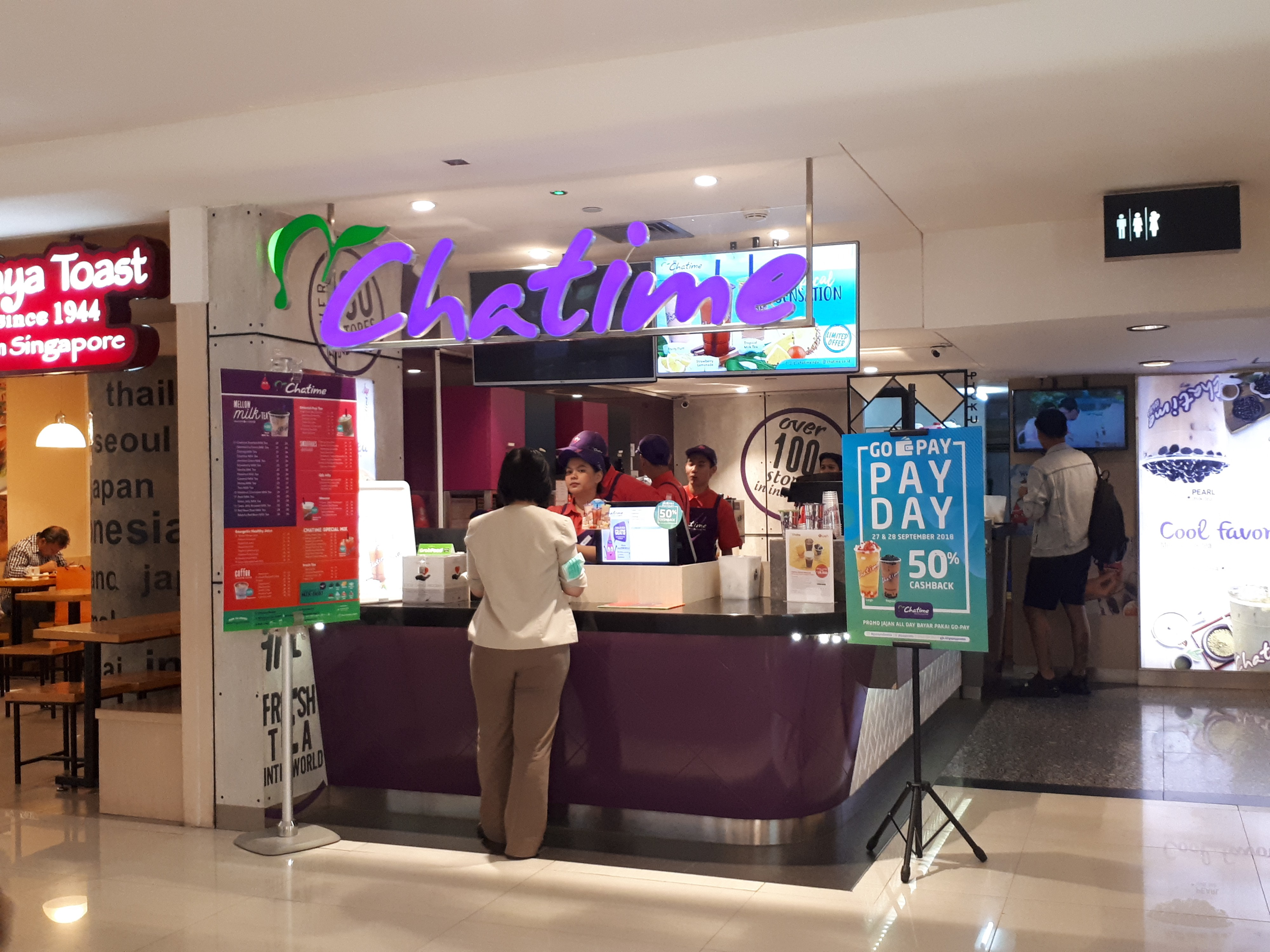 Is it Worth Your Time? — Chatime's 50% Go-Pay Cashback Deal