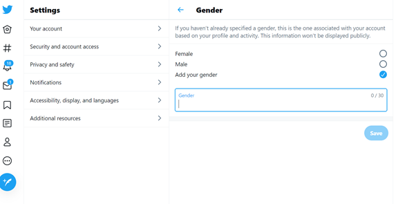 Paving the way for non-binary people with simple clicks