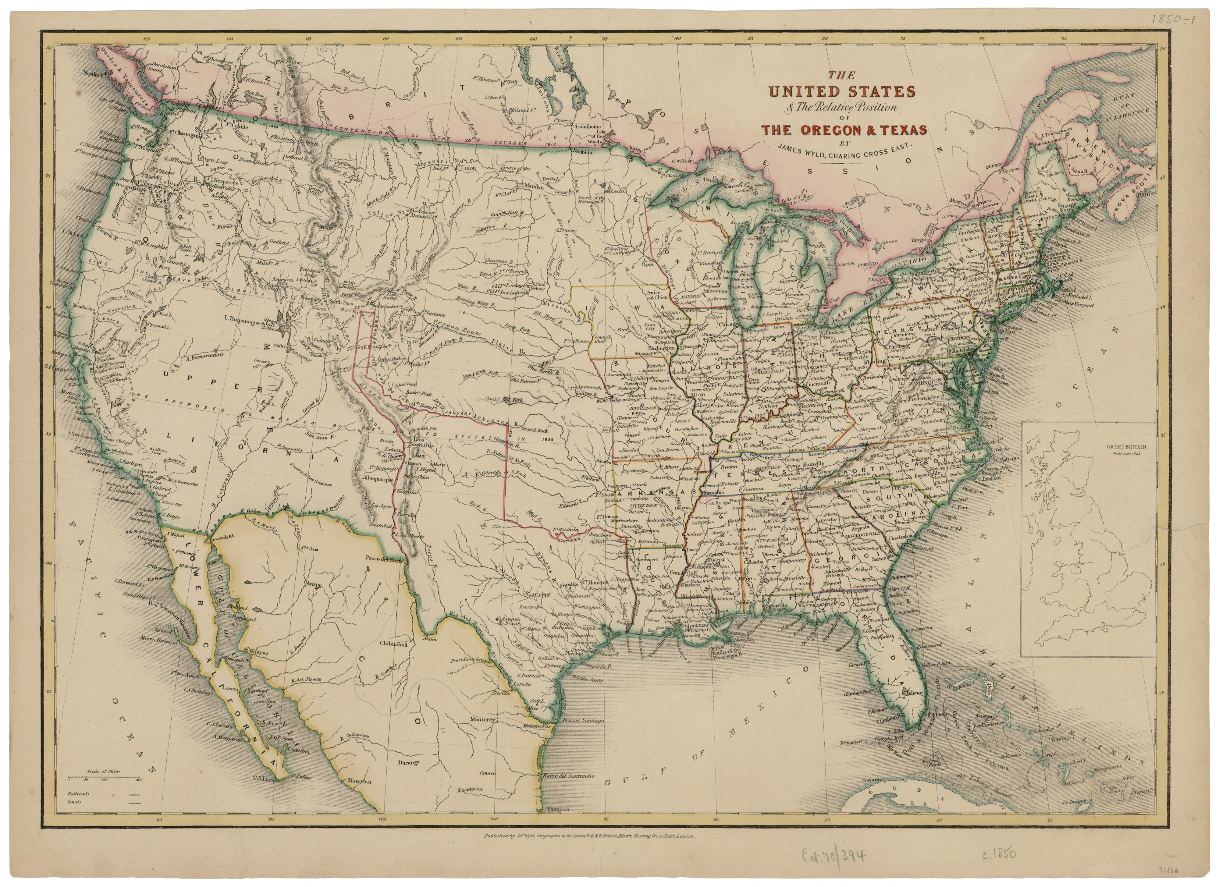 The United States & the Relative Position of the Oregon ...