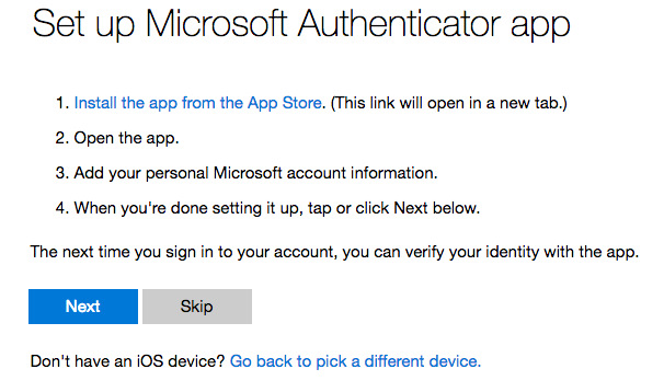 How to Enable Two-Factor Authentication on Microsoft Outlook