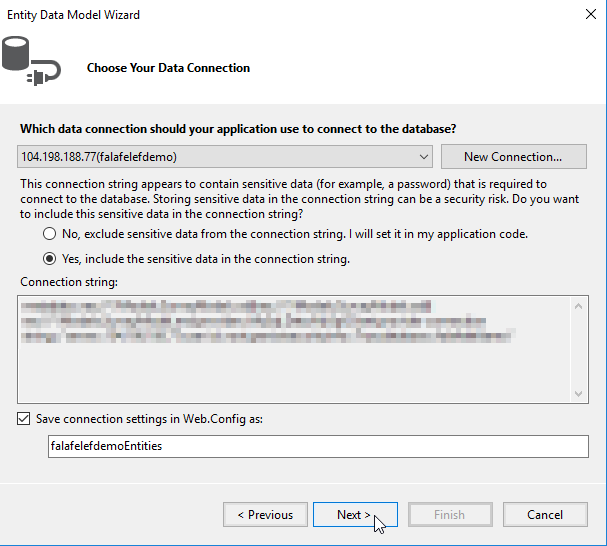 Entity Framework with Google Cloud SQL - Falafel Software