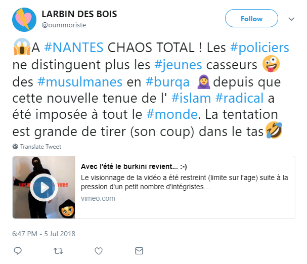 Uncovering Foreign Trolls (Trying) To Influence French