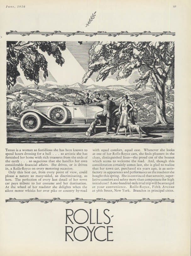 What should we learn from Rolls Royce advertisements?