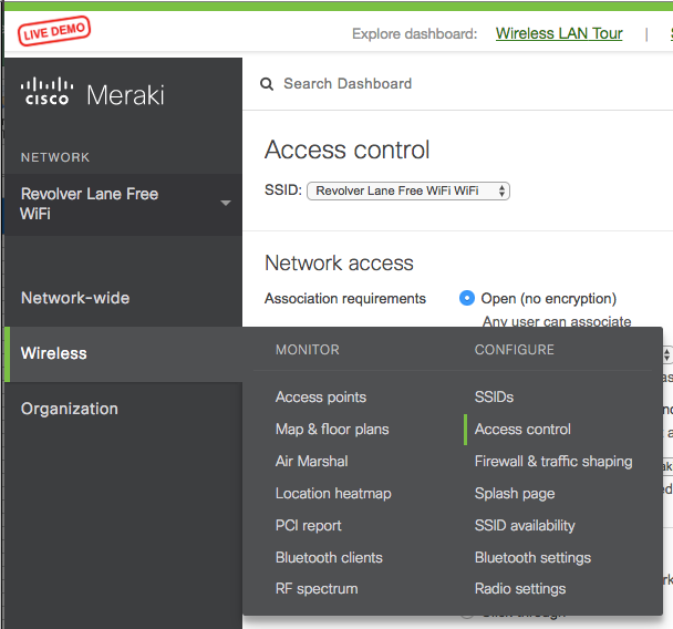 Free Social WiFi for Meraki Access Points - WHAT THE FI  BY