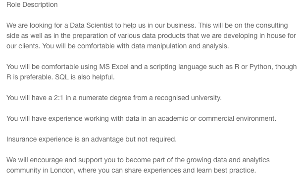 Data jobs, why you shouldn't give a f*** about job titles! 🔍