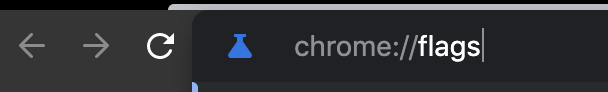 chrome://flags has advanced features you won't find in the regular Chrome settings