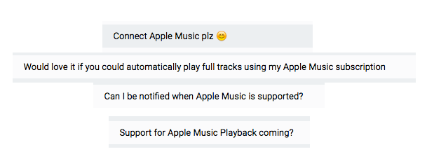 Playing My Chemical Romance using the Apple Music API