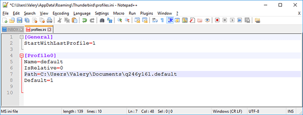 Mozilla Thunderbird: Recovering Emails and the Mail Client