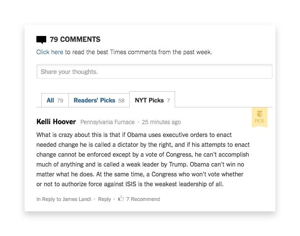 Let's give reader comments another chance — and for real, this time