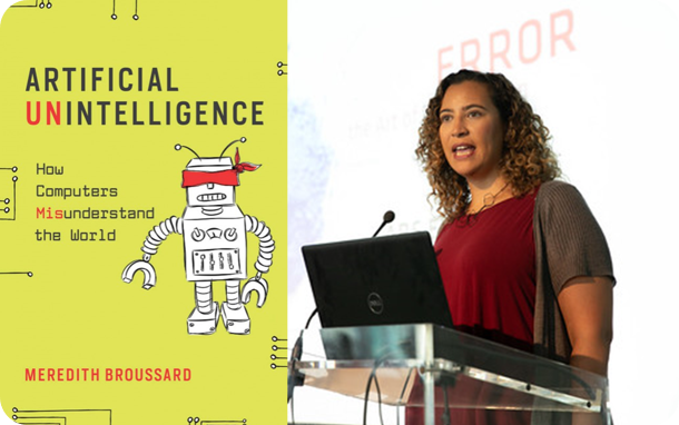 Book cover Artificial Intelligence by Meredith Broussard