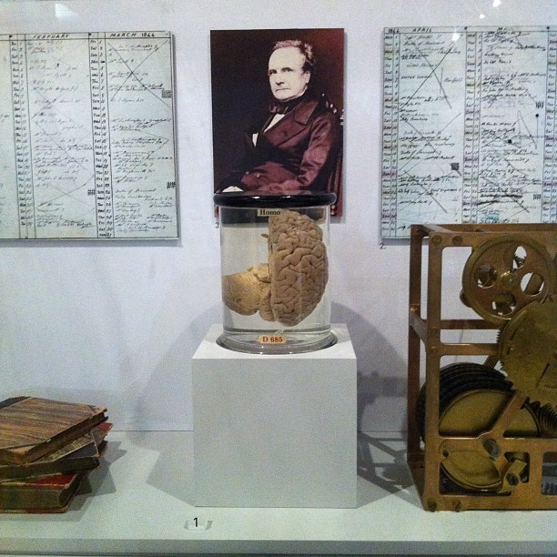 Worshipping the reliquary of Babbage's brain