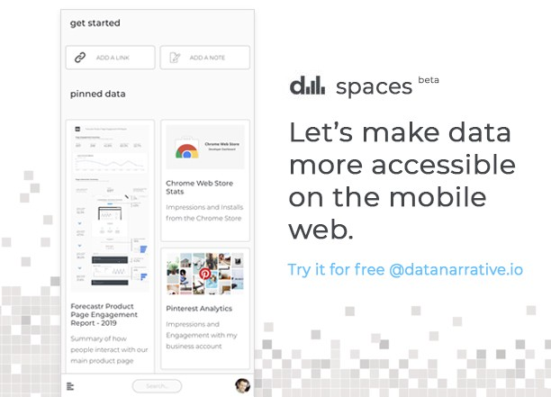 Data Spaces UI - improving data accessibility on the mobile web