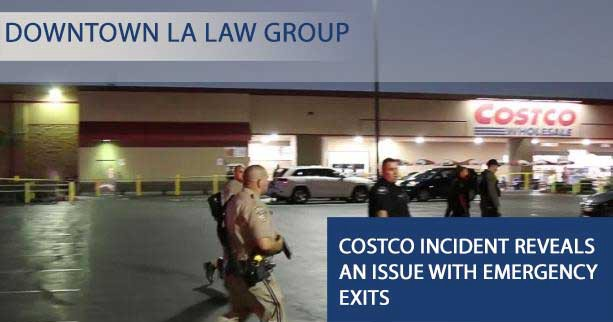 costco incident reveals an issue with emergency exits