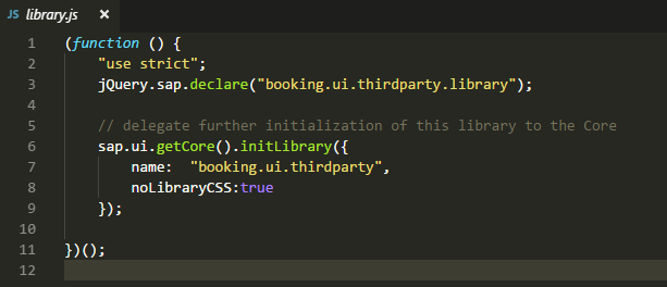 How to reuse third-party library in SAPUI5 (lodash and