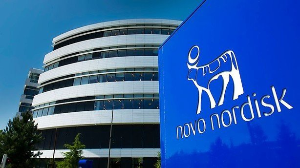 A picture of a Novo Nordisk corporate building