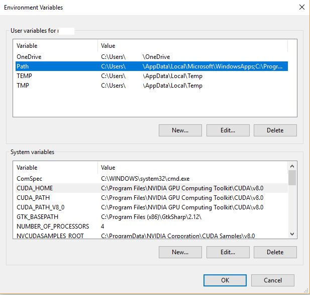 How to install TensorFlow with GPU support on Windows 10 with Anaconda