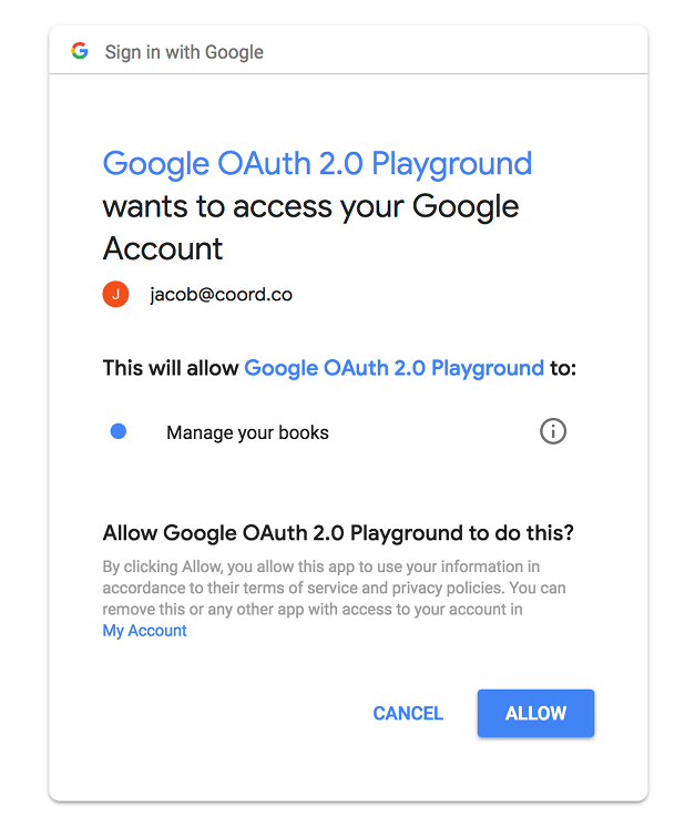 Google Openid Connect Playground OpenID Connect Google