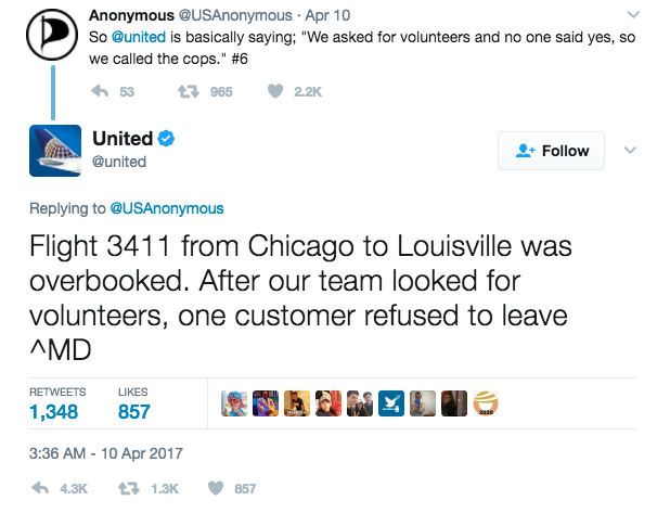 How United Airlines could have avoided the crisis on social