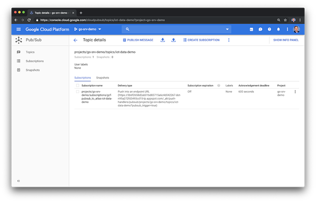 IoT Telemetry Collection using Google Protocol Buffers, Google Cloud