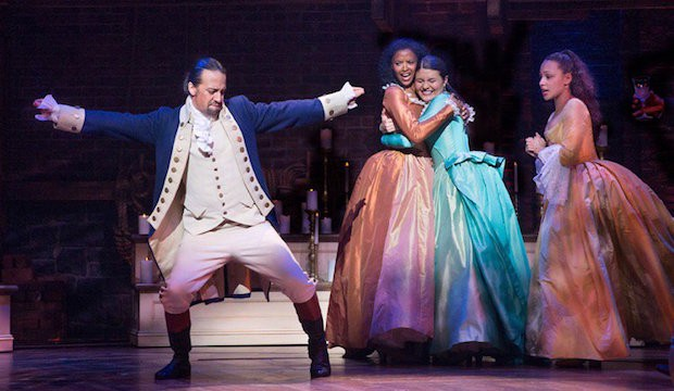 Hamilton, the record-breakingly successful Broadway musical Hamilton