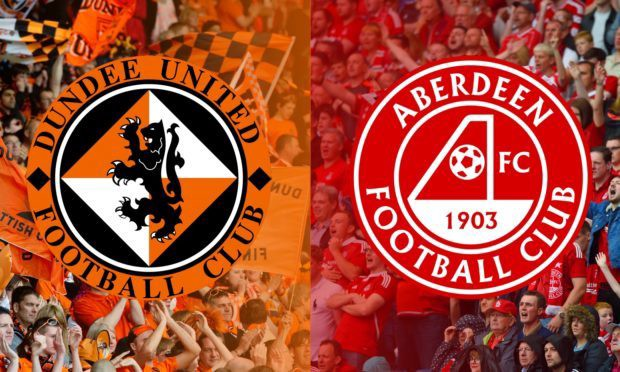 Dundee United F.C and Aberdeen F.C logos