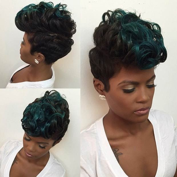 Very Easy And Fast Short Pixie Haircuts For Black Women 2019