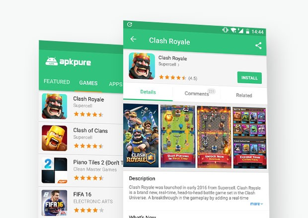 Android Applications that aren't available on Google Play Store