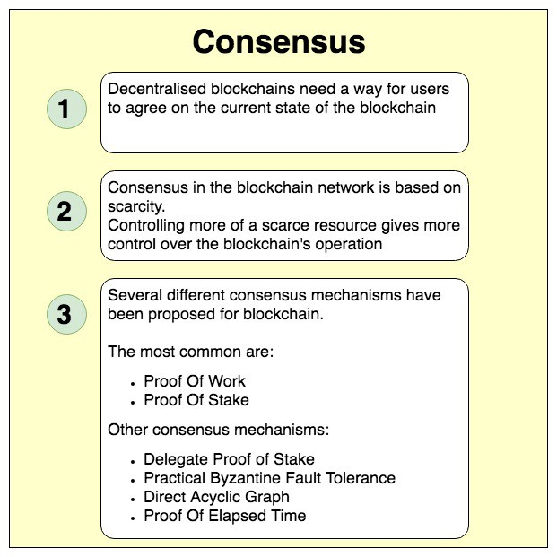Blockchain Consensus And Fault Tolerance In A Nutshell
