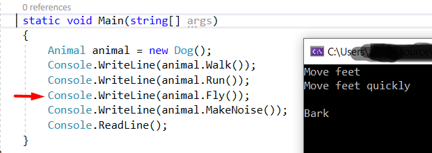Example Using the Liskov Substitution Principle in C#