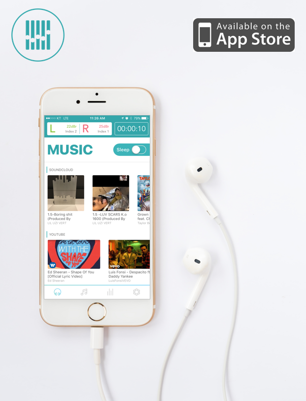 TSC Music — The Smart App that Calibrates Device to User's
