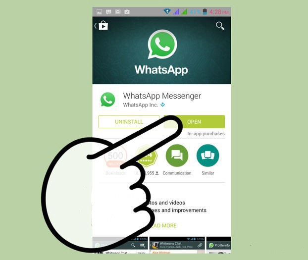 in whatsapp gruppe hacken