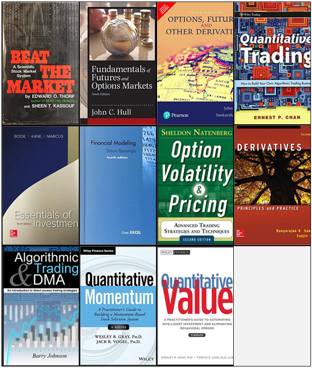 The complete list of books for Quantitative / Algorithmic