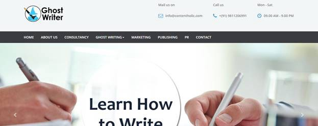 Professional ghostwriter website us pay for literature biography