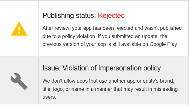 Google just terminated my Google Play Developer account forever