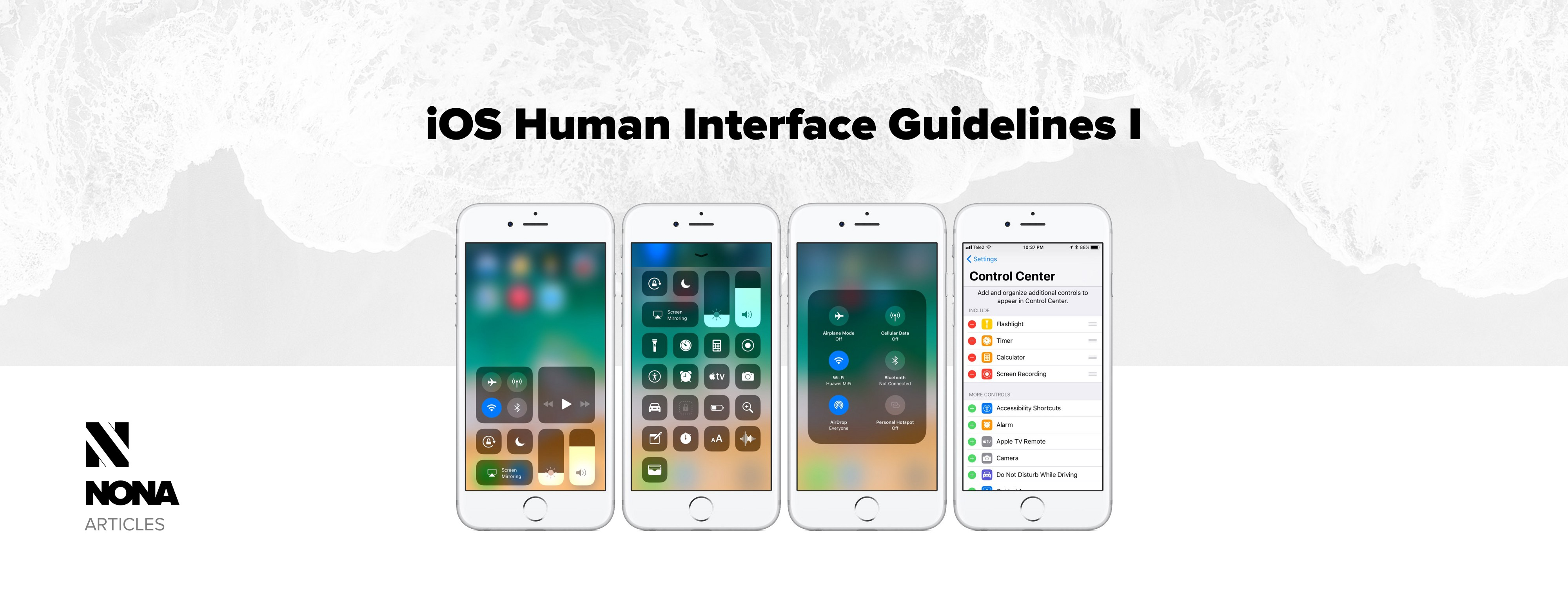 iOS Human Interface Guidelines I - NONA - Medium