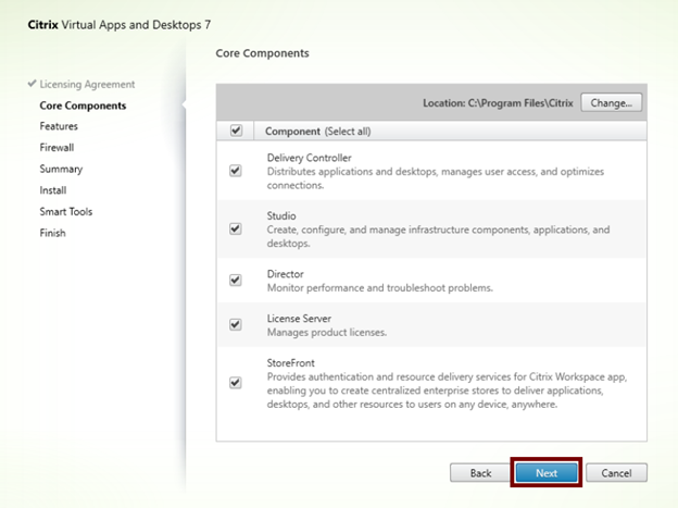 Citrix Virtual Apps and Desktop Kurulum ve Site