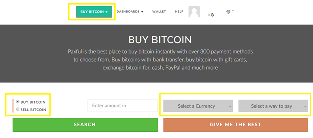 How to Buy Bitcoin via PayPal at Paxful? Step-by-Step