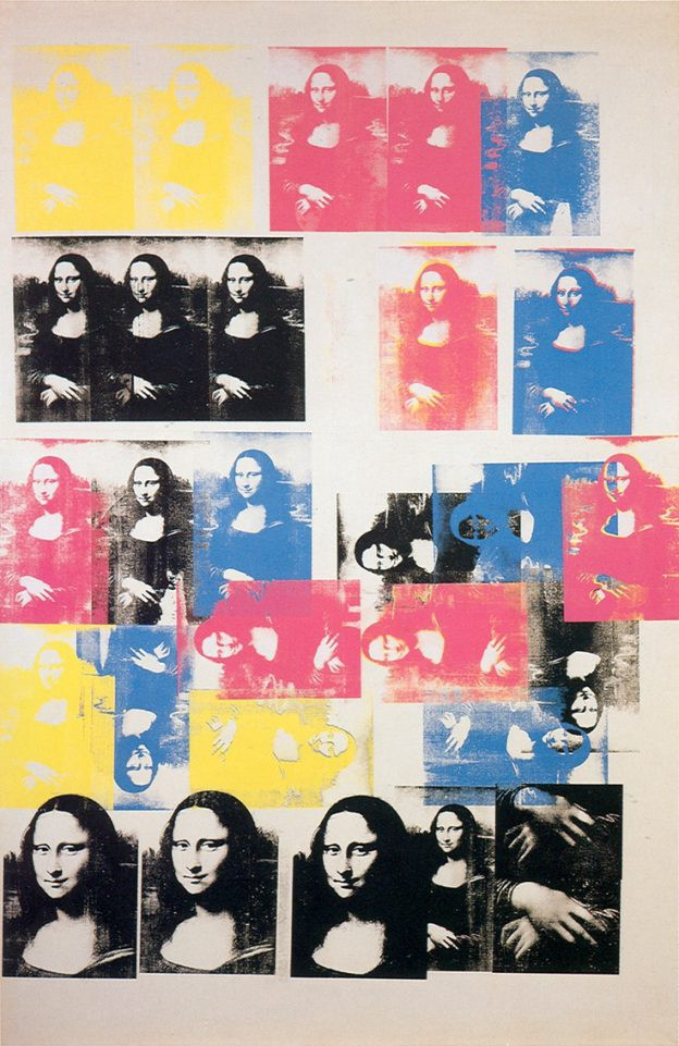 Colored Mona Lisa, 1963. Andy Warhol